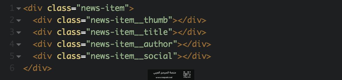 تعرف على نظام تسمية BEM الخاص بلغة CSS